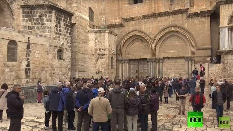 السلطات الإسرائيلية تعلق قرار فرض ضرائب على الكنائس
