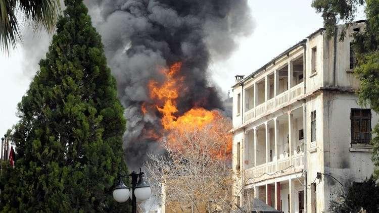 قتيل وجرحى بسقوط قذائف على دمشق وريفها
