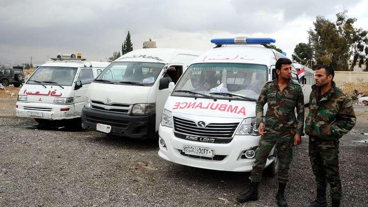 لليوم الثاني.. المسلحون يقصفون الممر الأنساني في الغوطة الشرقية