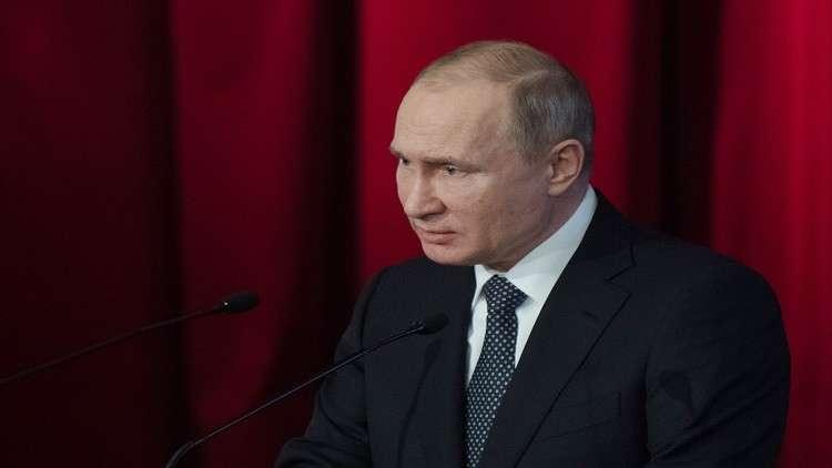 بوتين: يجب احترام حقوق الروس في التعبير ضمن سيادة القانون