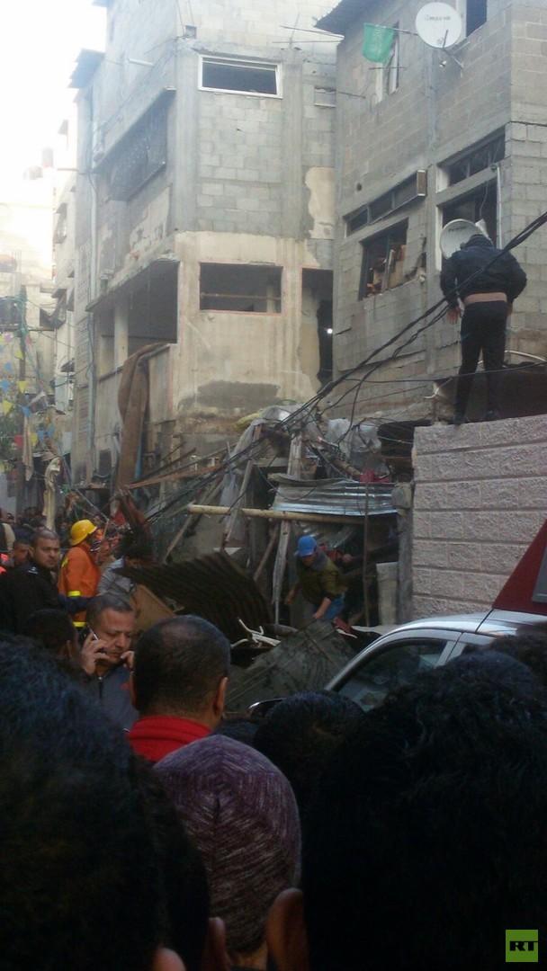 قتلى وجرحى بانفجار في قطاع غزة