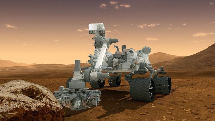 مسبار أبورتيونيتي يلتقط أول سيلفي على المريخ