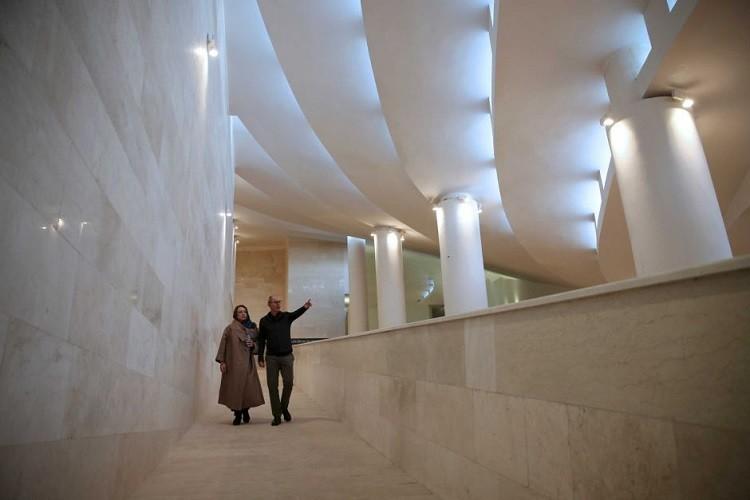 مسجد على شكل قلنسوة يهودية يثير غضب الإيرانيين