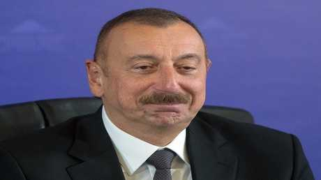 إلهام علييف  رئيس اذربيجان