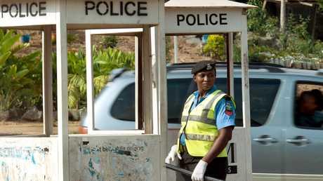 شرطية نيجيرية