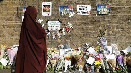 موقع الهجوم الإرهابي على المسلمين في لندن (صورة من الأرشيف)