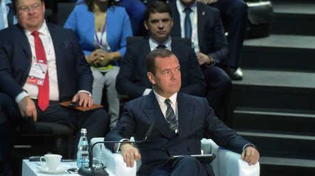 رئيس الوزراء الروسي دميتري مدفيديف (صورة أرشيفية)