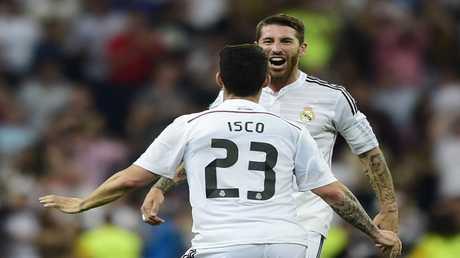 ريال مدريد يستعيد جهود راموس وإيسكو