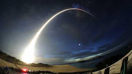 صورة ارشيفية لاطلاق صاروخ ياباني