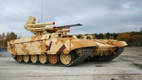 """العربة القتالية المخصصة لدعم الدبابات """"ترميناتور"""""""