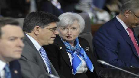 رئيسة مجلس الاحتياطي الفدرالي الأمريكي، جانيت يلين