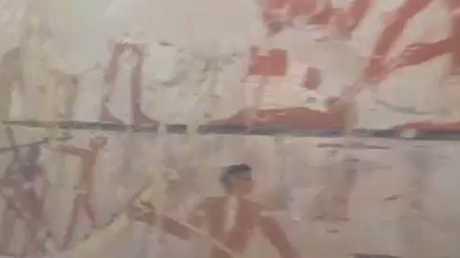 مصر تعلن عن اكتشاف آثار جديدة بالجيزة