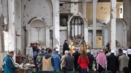 كنيسة السيدة العذراء في دير الزور