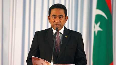 رئيس المالديف عبدالله يمين- صورة أرشيفية