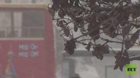 مناظر الشتاء الثلجي المنتظر في العاصمة الروسية