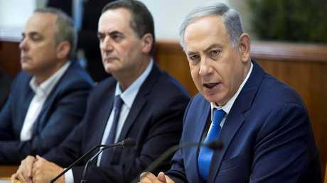 جانب من اجتماع الحكومة الإسرائيلية - أرشيف