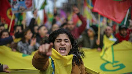 تظاهرات مؤيدة لأكراد عفرين في أمستردام - 27/01/18