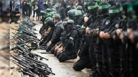 كتائب القسام في قطاع غزة (صورة أرشيفية)