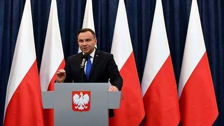 الرئيس البولندي أندجيه دودا