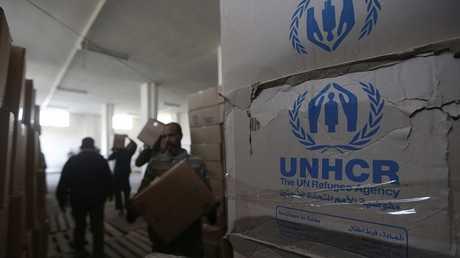 مساعدات إنسانية أممية إلى سوريا - أرشيف