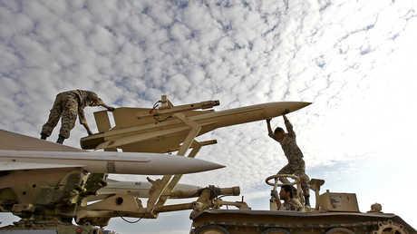 تدريبات القوات الإيرانية - صورة أرشيفية