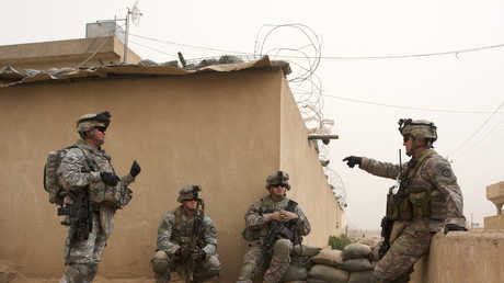 جنود أمريكيون في العراق - صورة أرشيفية