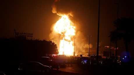 """تفجير أنبوب نفط """"بوري"""" البحرين - أرشيف"""
