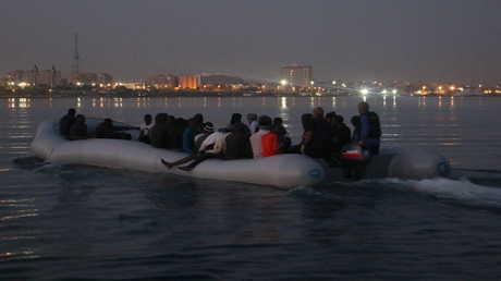 مهاجرون غير شرعيين في سواحل طرابلس