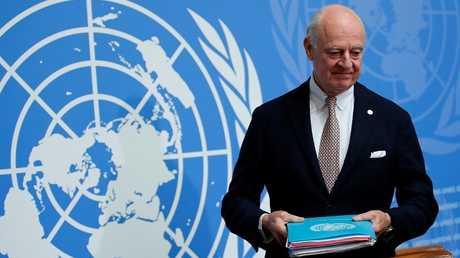 المبعوث الدولي الخاص إلى سوريا ستيفان دي ميستورا