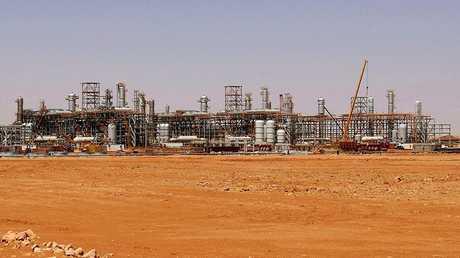 منصة الغاز الجزائرية بعين أميناس - أرشيف -