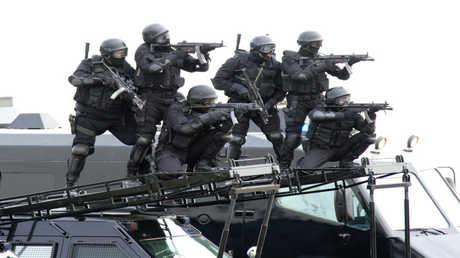 عناصر من القوات الخاصة الكويتية