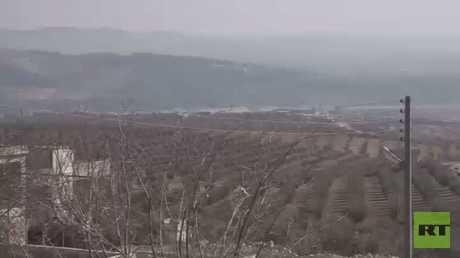 تحركات مقاتلي الوحدات الكردية في عفرين