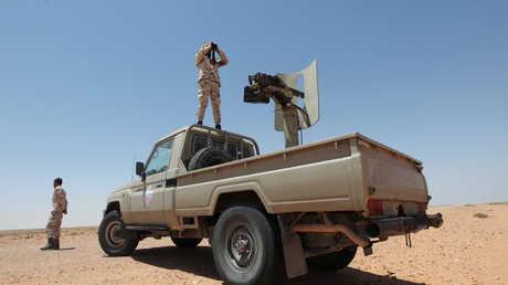 قوات موالية لحكومة الوفاق في محيط سرت