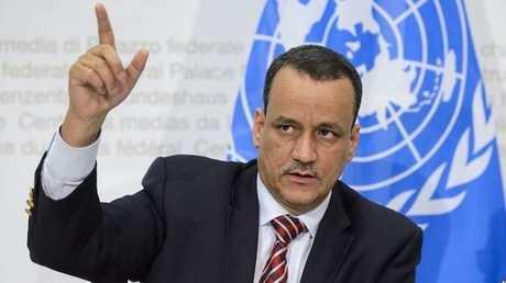 المبعوث الأممي إلى اليمن، المنتهية ولايته، إسماعيل ولد الشيخ