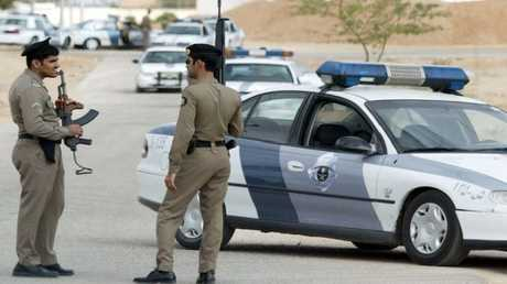 أفراد من الشرطة السعودية - أرشيف -