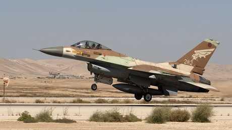 مقاتلة F16 إسرائيلية