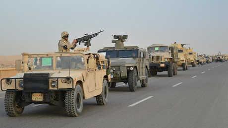 وحدات من الجيش المصري خلال عملية سيناء 2018