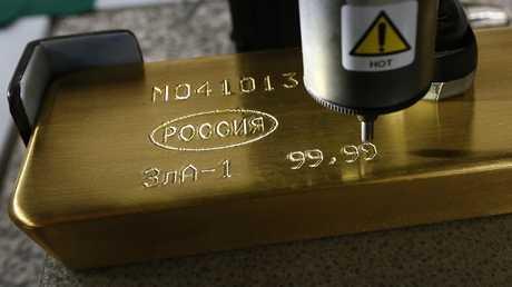 روسيا تثابر على تكديس الذهب بخزائنها