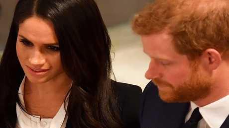 الأمير هاري وخطيبته الممثلة الأمريكية ميغان ماركل