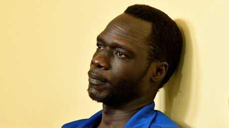 جيمس جاتديت داك المتحدث باسم الزعيم المعارض في جنوب السودان ريك مشار