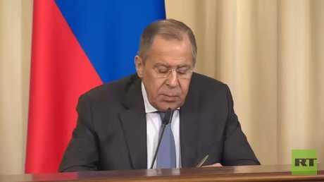 لافروف: تصرفات واشنطن تهدد وحدة سوريا