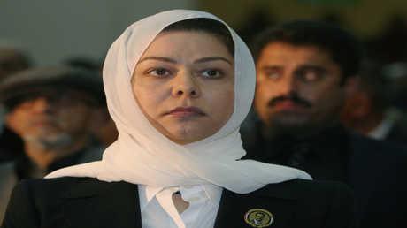 رغد ابنة الرئيس العراقي الراحل صدام حسين