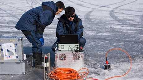 تجربة الاتصال الجليدي