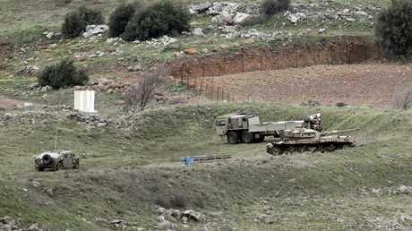 مركبات عسكرية إسرائيلية
