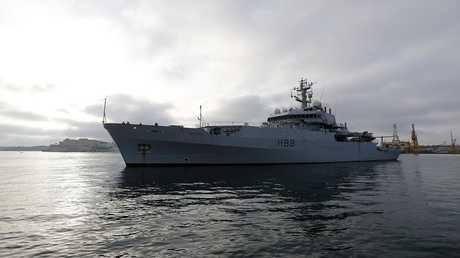 """أرشيف - سفينة """"Enterprise"""" العسكرية التابعة للبحرية البريطانية"""