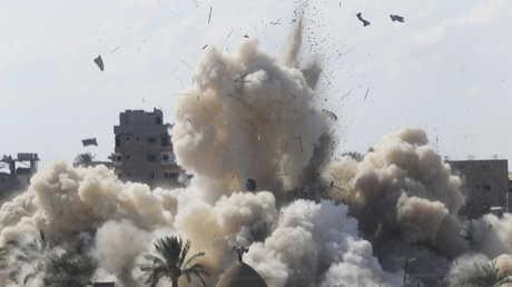 عملية القوات المصري في مدينة رفح - 29/10/2014