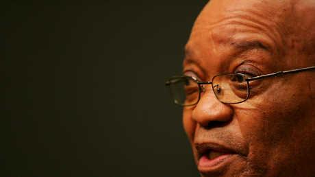 رئيس جنوب إفريقيا جاكوب زوما