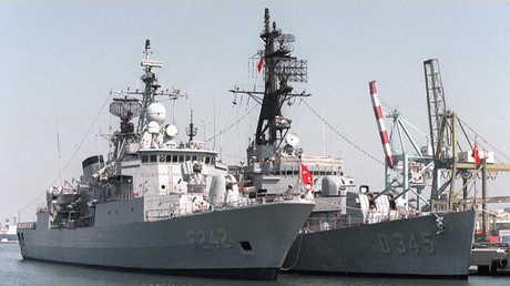 سفن حربية تركية - صورة أرشيفية