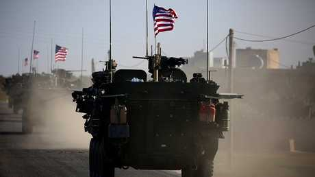 القوات الأمريكية في سوريا (صورة من الأرشيف)