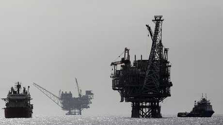 منصات النفط والغاز الإسرائيلية في المنطقة البحرية مع لبنان